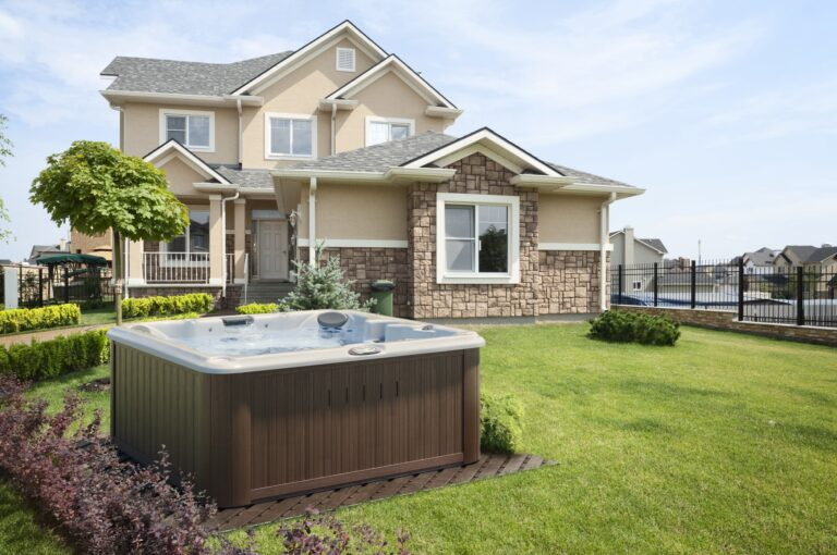 Stay Healthy with a backyard outdoor jacuzzi hot tub