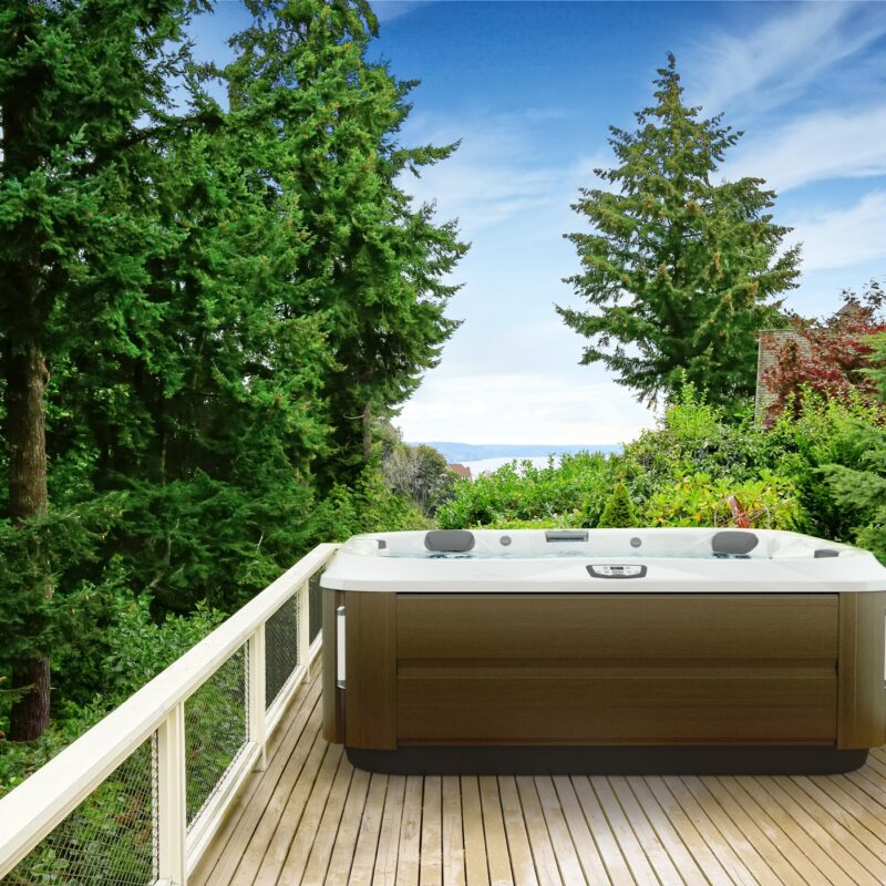 jacuzzi hot tub staycation