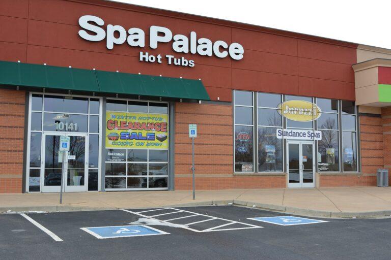 Spa Palace Westminster Denver Colorado hot tub showroom