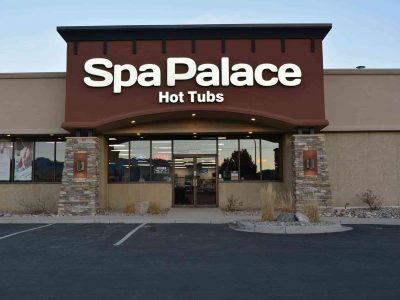 Spa Palace Colorado Springs hot tub showroom