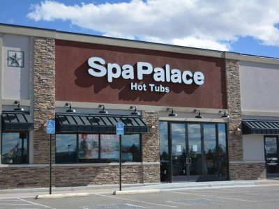 Spa Palace Parker Colorado hot tub showroom